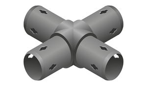 4-Way Cross Connector