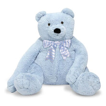 Load image into Gallery viewer, Jumbo Blue Teddy Bear - Plush