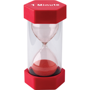 1 Minute Sand Timer - Large