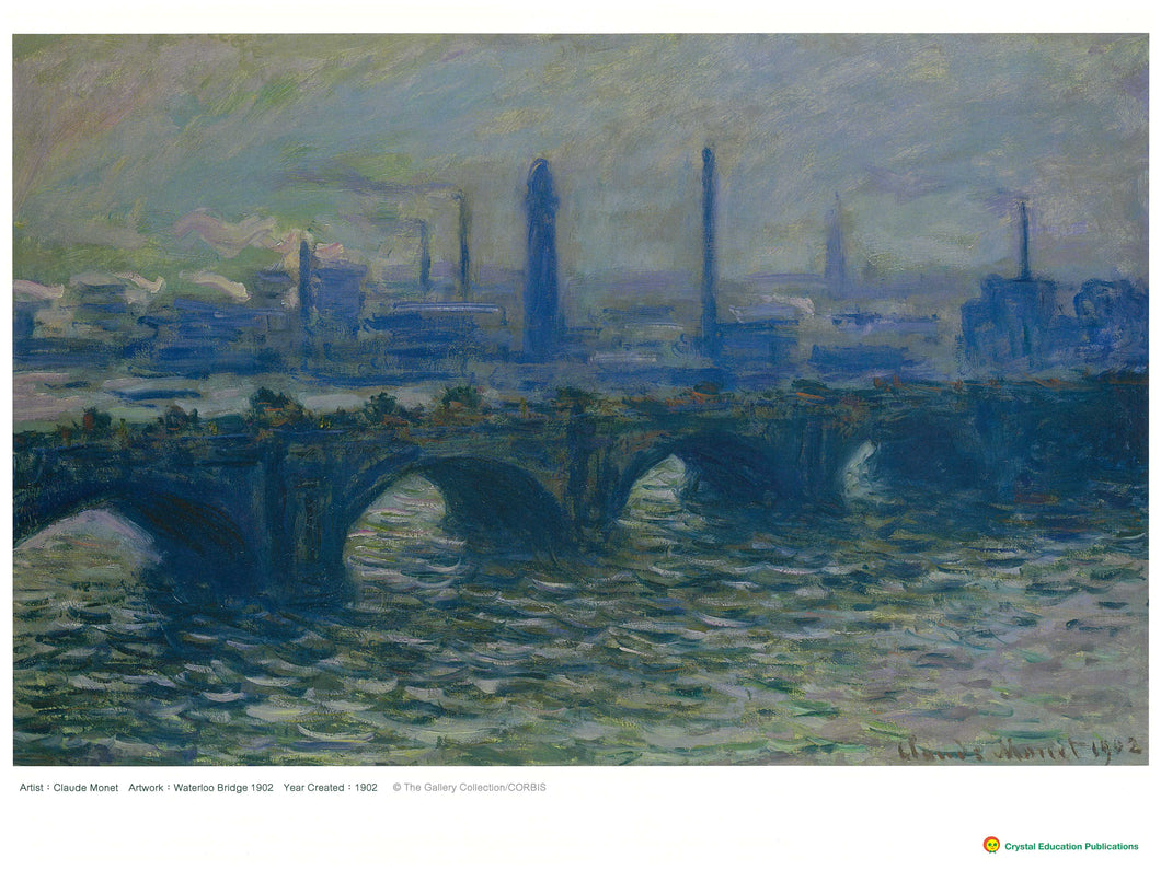 Waterloo Bridge (Claude Monet, 1902) 滑鐵盧橋