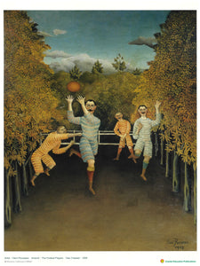 The Football Players (Henri Rousseau, 1908) 玩足球的人