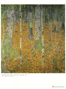 The Birch Wood (Gustav Klimt, 1903)  白樺木