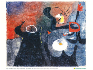 Group of Personages (Joan Miro, 1938)  一群名人
