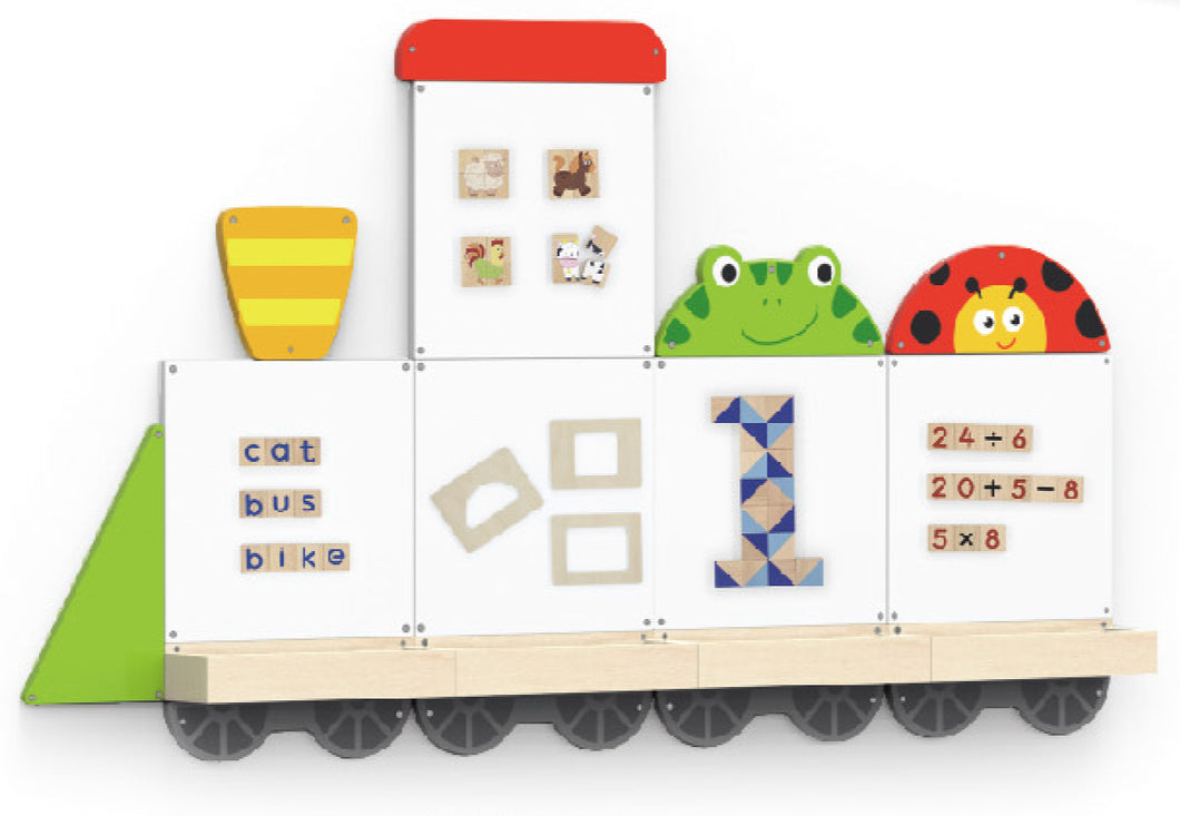 Magnetic Board - Train-4 (available in July 2020)