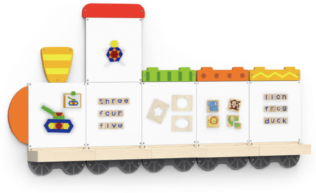 Magnetic Board - Train-5 (available in July 2020)
