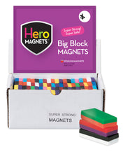 Load image into Gallery viewer, Big Block Magnets, Set of 40