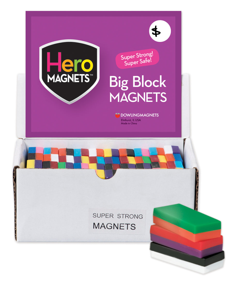 Big Block Magnets, Set of 40