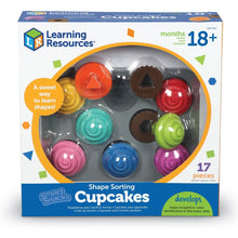 Load image into Gallery viewer, Smart Snacks® Shape Sorting Cupcake