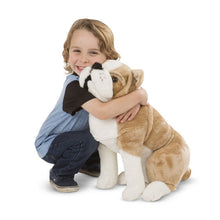 Load image into Gallery viewer, English Bulldog Giant Stuffed Animal