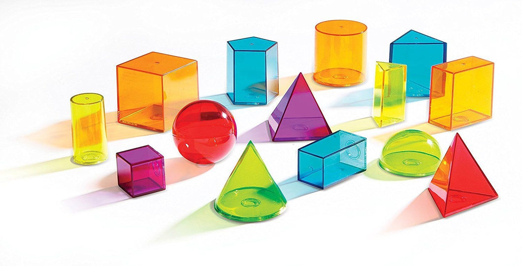 View-Thur Geometric Solids (Set of 14)