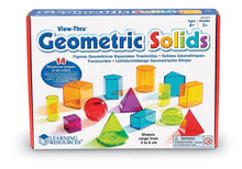Load image into Gallery viewer, View-Thur Geometric Solids (Set of 14)