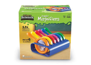 Primary Science® Jumbo Magnifiers with Stand