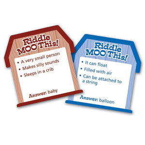 Riddle Moo This™ A Silly Riddle Word Game
