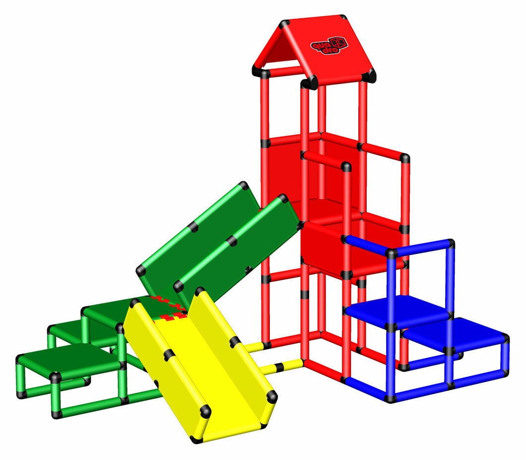Play Tower with Crawling Bridges