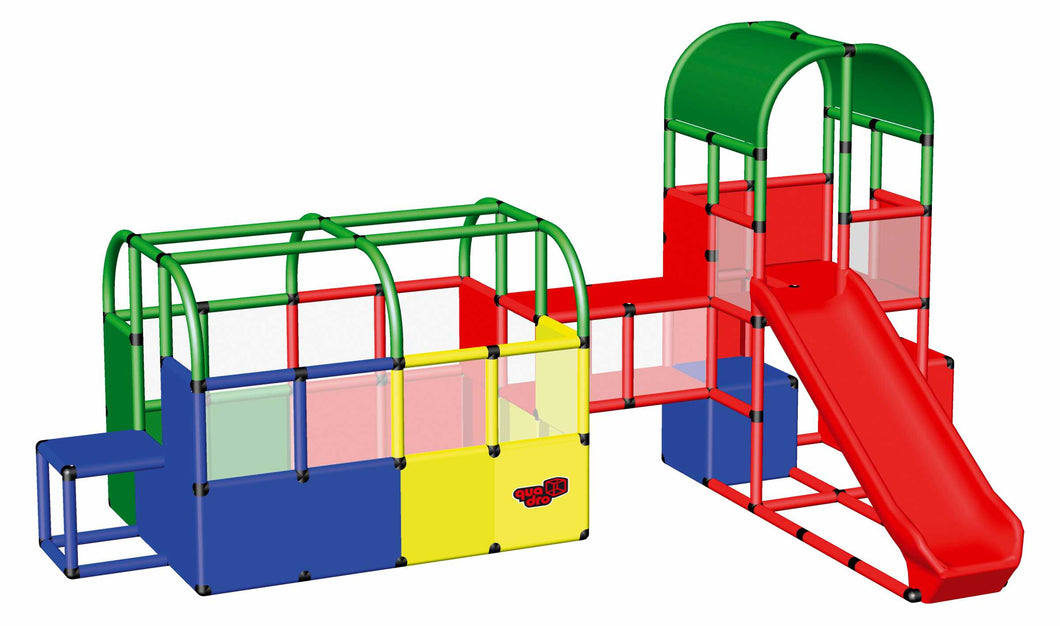 Ball Pit with Tunnel and Play Tower