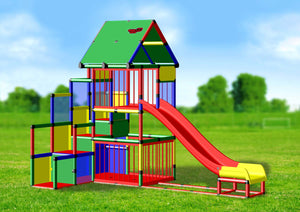 Baby Playcenter with Modular Slide