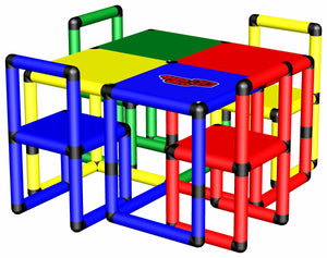 Play Table with 4 Chairs