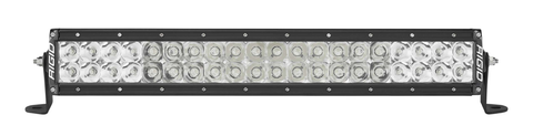 20 Inch Spot/Flood Combo Light Black Housing E-Series Pro RIGID Industries - LED Light Bars - Rigid Industries - Texas Complete Truck Center