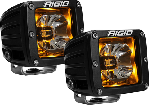 LED Pod with Amber Backlight Radiance RIGID Industries - Auxiliary Light - Rigid Industries - Texas Complete Truck Center