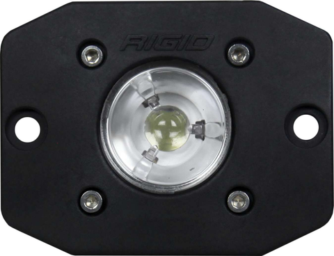 Flood Black Flush Mount Ignite RIGID Industries - Auxiliary Light - Rigid Industries - Texas Complete Truck Center