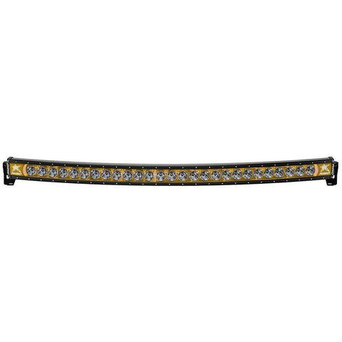 54 Inch LED Light Bar Single Row Curved Amber Backlight Radiance Plus RIGID Industries - LED Light Bars - Rigid Industries - Texas Complete Truck Center