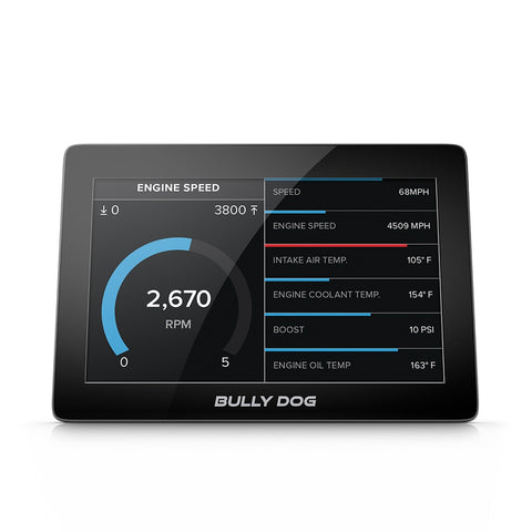 GTX Watchdog Gauge Monitor 5 Inch Capacitive Touch Screen Not Legal For Sale Or Use In California Bully Dog - Computer Chip Programmer - Bully Dog - Texas Complete Truck Center