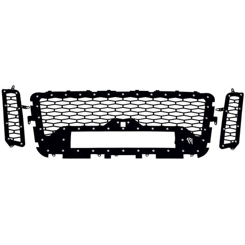 16-17 Nissan Titan Grille with Camera Fits One 20 Inch E-Series Pro RIGID Industries - Grilles - Rigid Industries - Texas Complete Truck Center