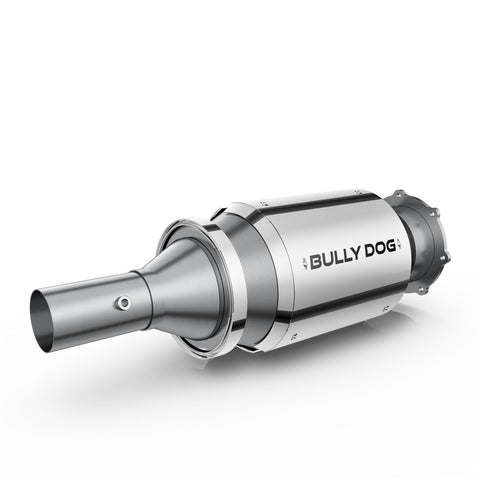 Diesel Particulate Filter Ford 6.4 Liter Diesel Stainless Steel Case Bully Dog - Diesel Particulate Filter - Bully Dog - Texas Complete Truck Center