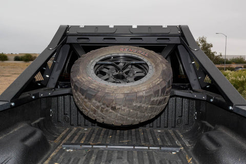 HoneyBadger Chase Rack Tire Carrier Addictive Desert DesignsC09552NA01NA - Chase Rack - Addictive Desert Designs - Texas Complete Truck Center