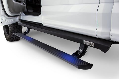 PowerStep Automatic power-deploying running board AMP-77105-01A - PowerStep XL - AMP Research - Texas Complete Truck Center