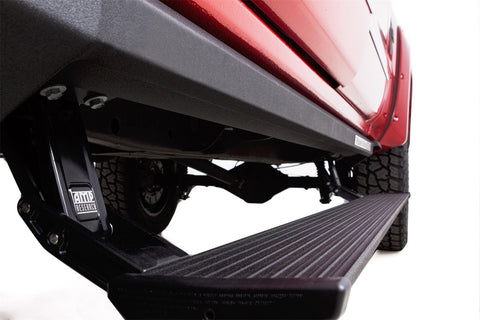 PowerStep Automatic power-deploying running board AMP-77154-01A - PowerStep XL - AMP Research - Texas Complete Truck Center
