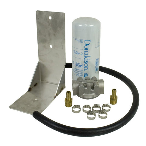 Remote Fuel Filter Kit - 2001-2012 Chevy Duramax - REMOTE FUEL FILTER - BD Diesel - Texas Complete Truck Center