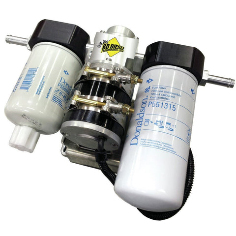 Flow-MaX Fuel Lift Pump c/w Filter & Separator - Dodge 2010-2012 6.7L - FLOW-MAX KIT - BD Diesel - Texas Complete Truck Center