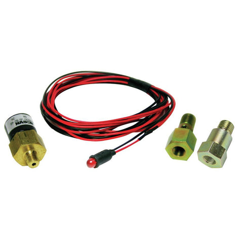 LOW FUEL PRESSURE ALARM KIT, Red LED - Ford 6.0L 2003-2007 - LOW PRESS ALARM KIT - BD Diesel - Texas Complete Truck Center