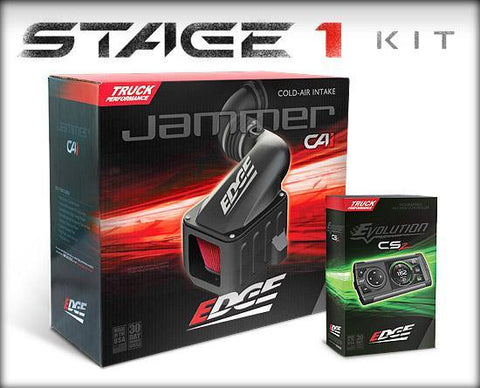 EDGE-39001 Jammer Cold Air Intakes - Engine Cold Air Intake Performance Kit - Edge Products - Texas Complete Truck Center