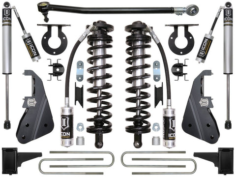 "17-UP FORD F-250/F-350 4-5.5"" STAGE 1 COILOVER CONVERSION SYSTEM - 17-UP FORD F250/F350 4-5.5"" STAGE 1 COILOVER CONVERSION SYSTEM - ICON Vehicle Dynamics - Texas Complete Truck Center"