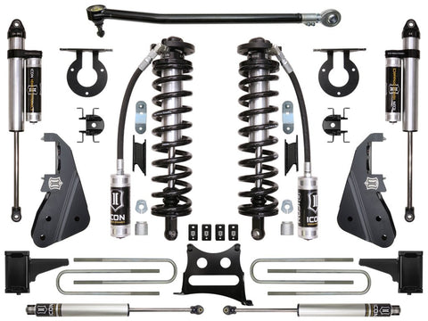 "17-UP FORD F-250/F-350 4-5.5"" STAGE 3 COILOVER CONVERSION SYSTEM - 17-UP FORD F250/F350 4-5.5"" STAGE 3 COILOVER CONVERSION SYSTEM - ICON Vehicle Dynamics - Texas Complete Truck Center"