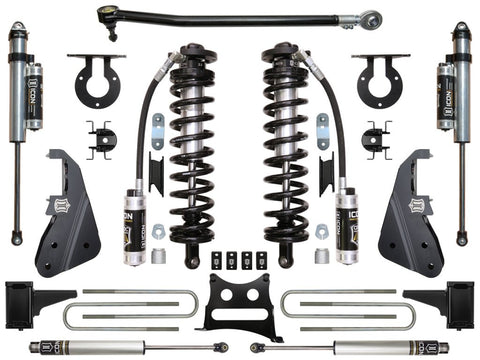"17-UP FORD F-250/F-350 4-5.5"" STAGE 4 COILOVER CONVERSION SYSTEM - 17-UP FORD F250/F350 4-5.5"" STAGE 4 COILOVER CONVERSION SYSTEM - ICON Vehicle Dynamics - Texas Complete Truck Center"