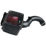 Cold Air Intake For 04-05 Chevrolet Silverado GMC Sierra V8-6.6L LLY Duramax Cotton Cleanable Red S&B - Cold Air Intake For 04-05 Chevrolet Silverado GMC Sierra V8-6.6L LLY Duramax S&B - S&B - Texas Complete Truck Center