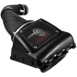Cold Air Intake For 11-16 Ford F250, F350 V8-6.2L Oiled Cotton Cleanable Red S&B - Cold Air Intake For 11-16 Ford F250, F350 V8-6.2L S&B - S&B - Texas Complete Truck Center