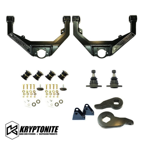 KRYPTONITE STAGE 2 LEVELING KIT 2001-2010 - Suspension - Kryptonite - Texas Complete Truck Center
