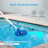 VIVOHOME 2020 Best Upgraded Automatic Inground Above Ground Suction Swimming Pool Sweeper Vacuum Cleaner with 14 2.62 ft