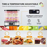 Best Food Dehydrator Machine with Digital Timer and Temperature Control for Fruit Vegetable Meat Beef  VIVOHOME