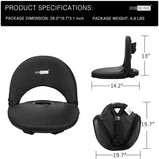 VIVOHOME Foldable Stadium Seat Reclining Waterproof Cushion Chair Pack of 1