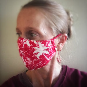 Face Mask Pattern and Tutorial - Up-cycled clothing by Andrea Durham Designs