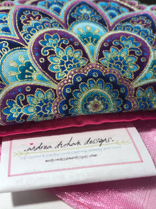 Yoga/Meditation Eye Pillow - Up-cycled clothing by Andrea Durham Designs