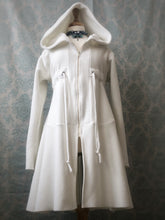 "Load image into Gallery viewer, ""The White Witch"" hoodie jacket"