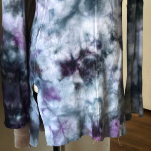 MTO CUSTOM Thermal top handmade and hand dyed