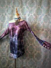 Load image into Gallery viewer, Bamboo and velour hand dyed tunic