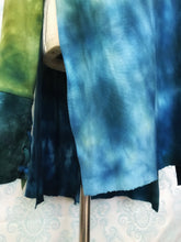 Load image into Gallery viewer, Organic bamboo slouchy tunic top hand dyed